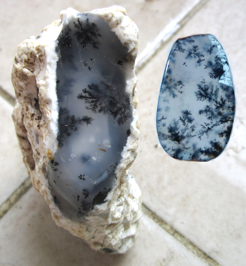 Other Roughs Blue Chalcedony Mine